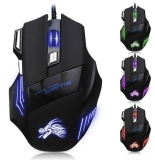 Miliki Segera 5500 Dpi 7 Tombol Led Optik Usb Wired Gaming Mouse Mouse Untuk Pro Gamer Intl