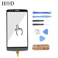 5.5 Inch untuk LG Optimus G3 Stylus D690 Touch Front High Glass Screen Digitizer Panel Lens Sensor FLEX Kabel Capacitive + Alat Gratis + Free Perekat-Intl