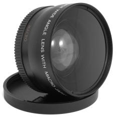 Beli 58Mm 45X Macro Wide Angle Lens 62Mm Depan Baru Untuk Canon Rebel Eos Lf037 Sz Hitam Xcs® Asli