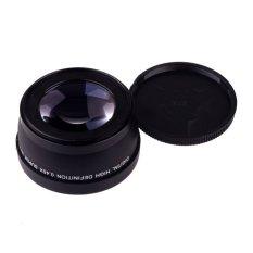 Promo 58Mm 45 X Sudut Lebar Lensa Makro For Canon Eos 450D 500D 550D 600D 1100D Hitam Murah