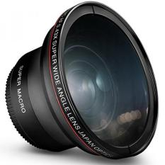 58mm 0.43x Altura Foto Profesional HD Wide Angle Lens (Bagian Macro) untuk Canon EOS Rebel 77D T7i T6s T6i T6 T5i T5 T4i T3i T3 SL1 1100D 700D 650D 600D 550D 300D 100D 60D 7D 70D