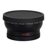 Jual Beli 58Mm 45X Wide Angle Lensa Untuk Canon Eos 1000D 1100D 500D Rebel T1I T2I T3I Intl Tiongkok