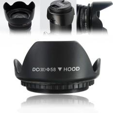 58 Mm Upgrade Penutup Lensa untuk Canon 700D 100D 650D 600D 550D 1200D 1100D 18-55mm-Intl