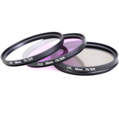 58 Mm Kopral Sinar Filter UV Field Kit untuk Canon EOS 500D 550D/Rebel T3i T2i T1i SLR