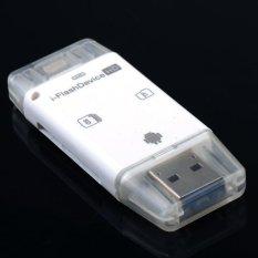 Spesifikasi 5G Semua Dalam 1 I Flash Drive Lightning Micro Usb Tf Sd Card Reader Untuk Iphone 5 5 S 5C 6 6 S 7 Plus Ipod Ipad Intl Lengkap Dengan Harga