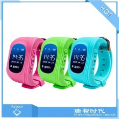 5*pcsRussian version of the English version of Q50 children's smartwatches 0.96 inch OLED screen children watch gifts - intl