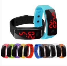 5 * PcsThe Dua Generasi Kenyamanan Baru Olahraga Sunglasses LED Watches Grosir Baru LED Watches Produsen Keuntungan Harga- INTL