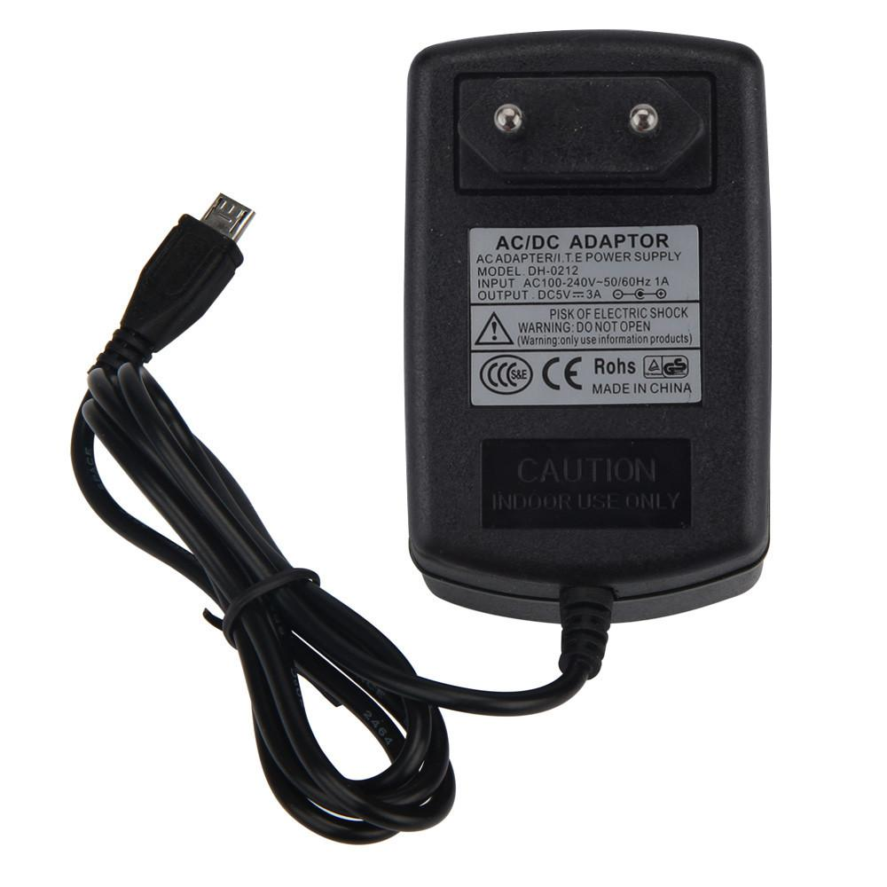 Pusat Jual Beli 5V 3A Micro Usb Ac Adapter Dc Wall Power Supply Charger For Pi Switch Eu Intl Tiongkok