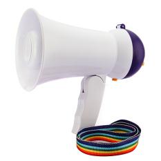 Spesifikasi 5 Watt Mini Tanduk Banteng Mikrofon Pengeras Suara Pengeras Musik Oem