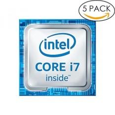 5x Asli 6th Gen. Intel Core I7 Dalam Stiker 18 Mm X 18 Mm dengan Otentik Hologram-Intl