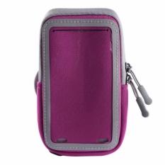 6 Inch Kolam Olahraga Universal Sejuk Kapasitas Besar Layar Sentuh Arm Band Case ARM Bag Gym Pounch Menjalankan Aksesori- INTL