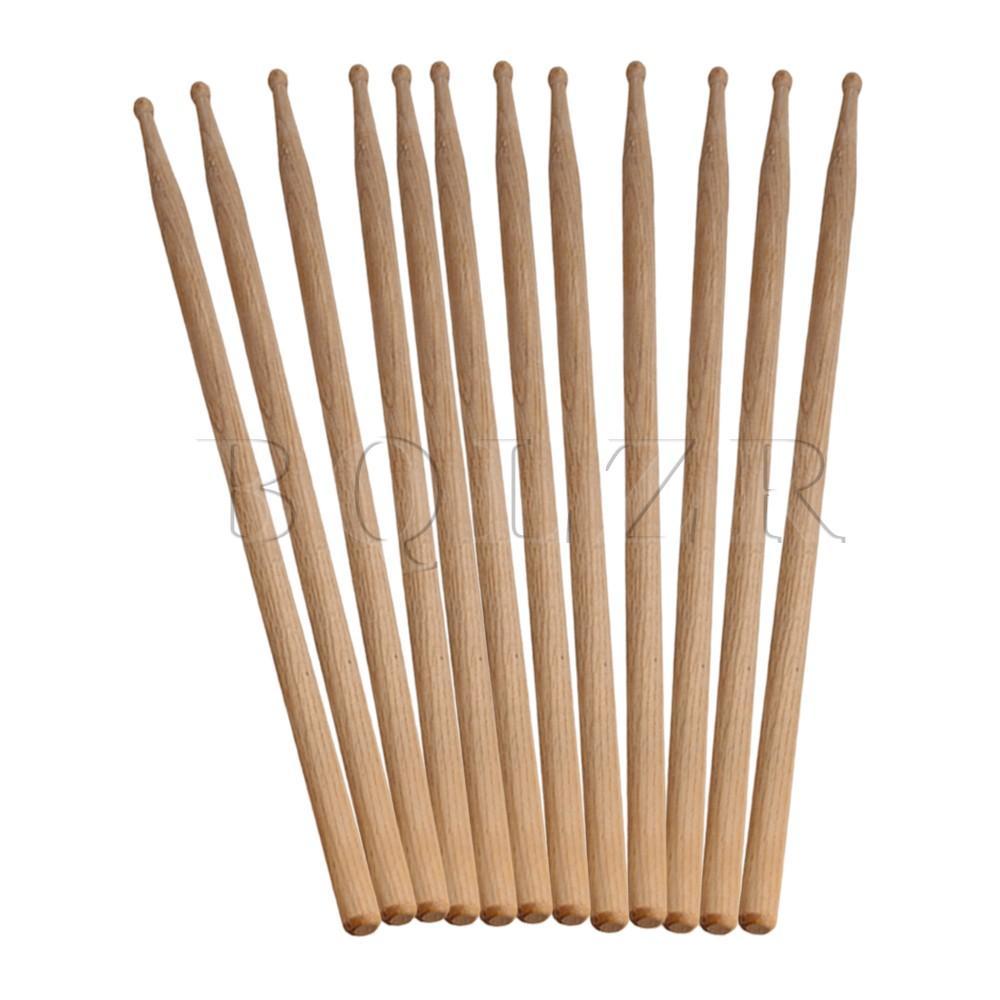 Harga 6 Pair 12 Sticks Drum Sticks Burlywood Online