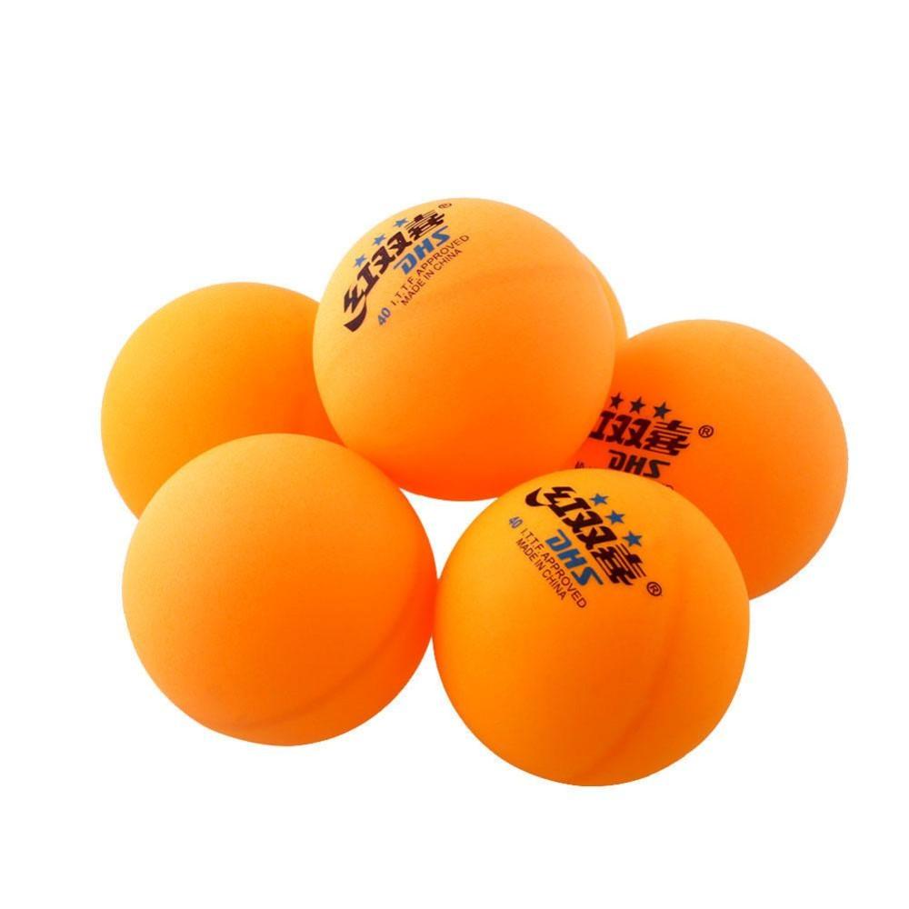 6 Pcs 3 Bintang DHS 40mm Tenis Meja Olimpiade Ping Pong Balls Tahan Lama-Intl