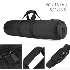 60 Cm Padded Strap Camera Tripod Carry Bag Case untuk Manfrotto Gitzo Velbon Hitam-Intl
