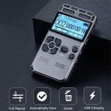 64G Rechargeable Lcd Digital Audio Sound Perekam Suara Dictaphone Mp3 Player Intl Not Specified Diskon 30