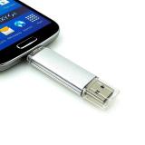 Diskon Produk 64 Gb Otg Usb Stik Memori Penyimpanan Eksternal Disk U Pena Drive Pendrive Usb Flash Drive Untuk Android Ponsel Pintar Putih International