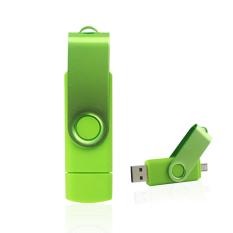 Beli 64 Gb Otg Usb 2 Penyimpanan Eksternal Pena Drive Micro Usb Flashdisk Pendrive Memori Stik Hijau International Online Tiongkok