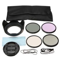67MM UV CPL FLD ND4 Polarizing Lens Filter Kit Cap For Nikon Canon Sigma Tamron - intl