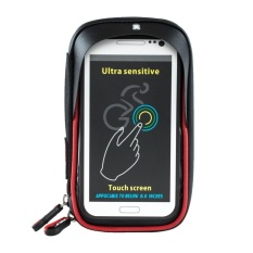 Spesifikasi 6 Inch Waterproof 360 Derajat Tas Ponsel Dengan Sunvisor Tpu Layar Sentuh Hitam Merah Intl Murah Berkualitas