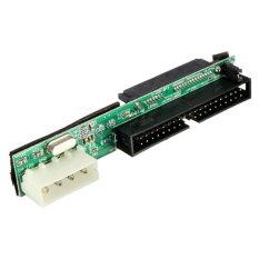 7 + 15P perempuan SATA SSD HDD harddisk untuk IDE 8.89 cm 40 tandai adaptor konverter male - International