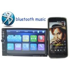 7 Inch 2 DIN Tombol Putar Pengatur Bluetooth Kontrol Mobil MP4 MP5 Radioplayer Dukungan Layar Sentuh Rear View Kamera DVR Di Video FM Usbaux In- internasional