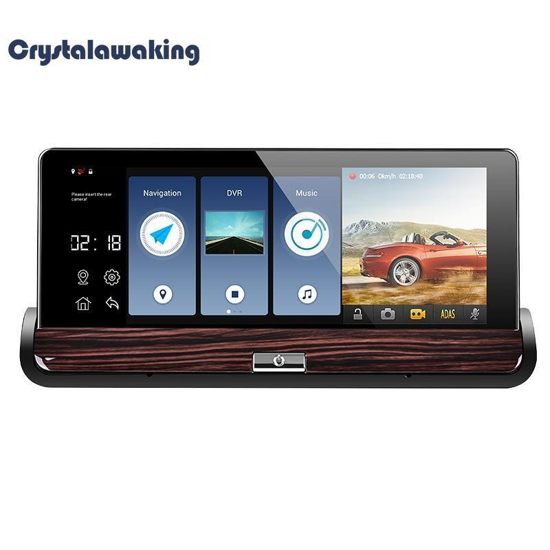 7 Inch Touch Android 3G Rearview Mirror DVR GPS WIFI Car Video Recorder