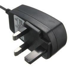 7 Port USB 2.0 Kecepatan Tinggi Hub Multi Ekspansi dengan Adaptor Daya untuk PC dan Laptop UK Spesifikasi-Intl