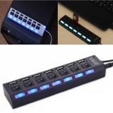 Diskon 7 Port Usb 2 Multi Charger Hub High Speed Adaptor On Off Saklar Laptop Pc Akhir Tahun