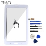 Toko 7 Inch Tablet Touch Front High Glass Screen Digitizer Panel For Samsung Galaxy Tab 3 Lite 7 T111 Lens Sensor Flex Cable Free Tools Adhesive Intl Di Tiongkok