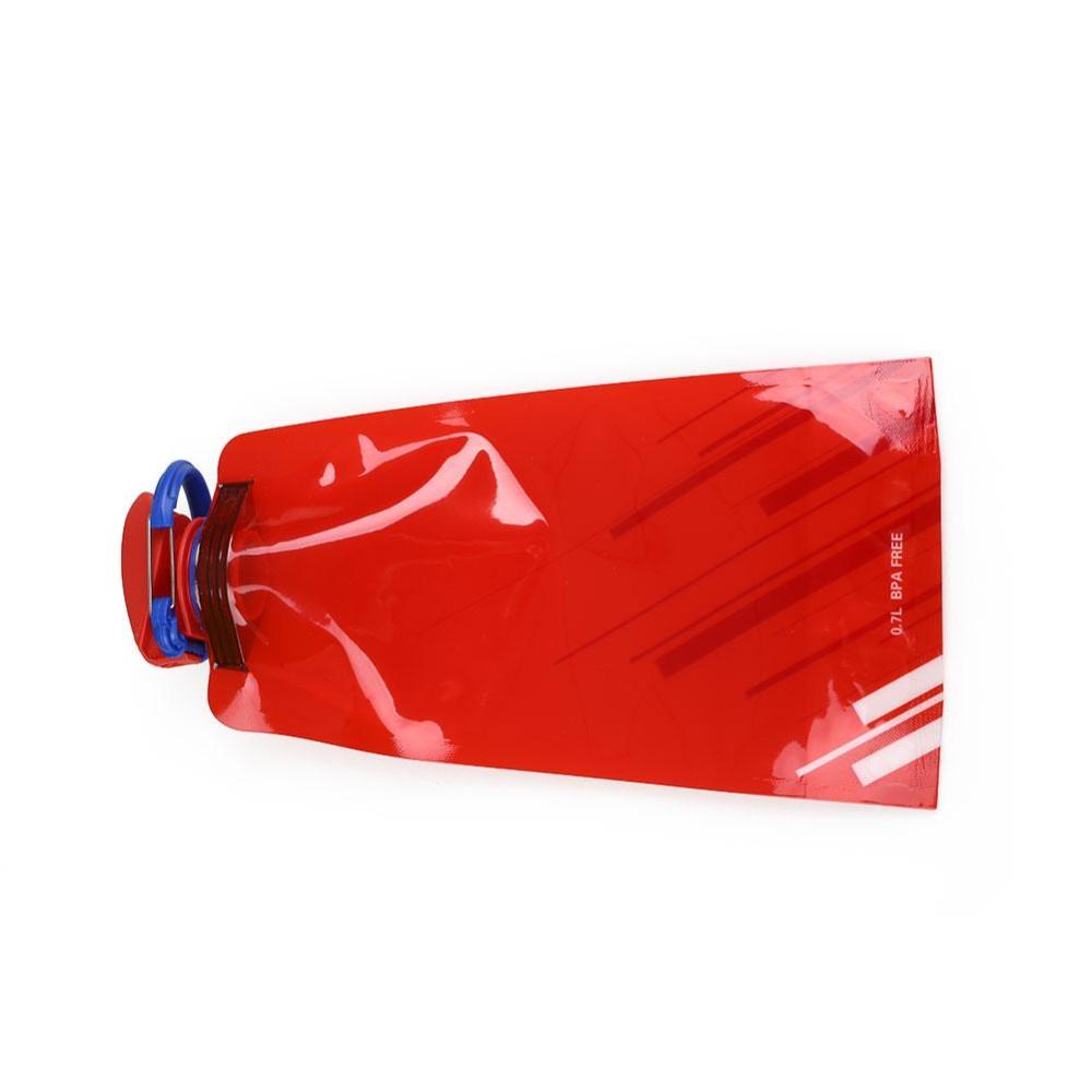 700 Ml Lipat Air Kandung Kemih Tas Botol Outdoor Camping Hiking Bersepeda Climbing-Intl