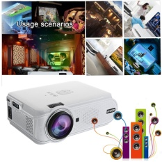 Katalog 7000 Lumens 1080 P Hd Led 3D Proyektor Mini Home Theater Cinema Remote Control Intl Terbaru