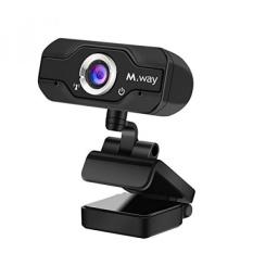 720 P HD Webcam, M. Way USB PC Komputer Kamera 360 Derajat Rotasi 1 Juta Piksel Clip ON STYLE Video Calling Recording dengan Kebisingan- Membatalkan MIC untuk Skype Desktop Laptop Mac Mendukung XP/7/8/10-Intl