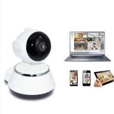 720P Wi Fi Wireless Pan Tilt Cctv Network Security Ip Camera Ir Night Vision Eu Intl Promo Beli 1 Gratis 1