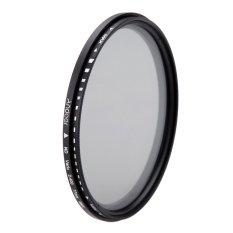 Review Tentang 77 Mm Nd Fader Kepadatan Netral Yang Dapat Nd2 Untuk Nd400 Variabel Filter Untuk Canon Nikon Dslr Kamera
