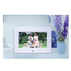 Beli 7 Inch Hd Lcd Bingkai Foto Digital Dengan Jam Alarm Slideshow Mp3 4 Player Wh Intl Lengkap