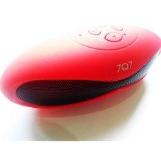 Toko 7Q7 Speaker Bluetooth Model Kerang Pink Lengkap Di Dki Jakarta