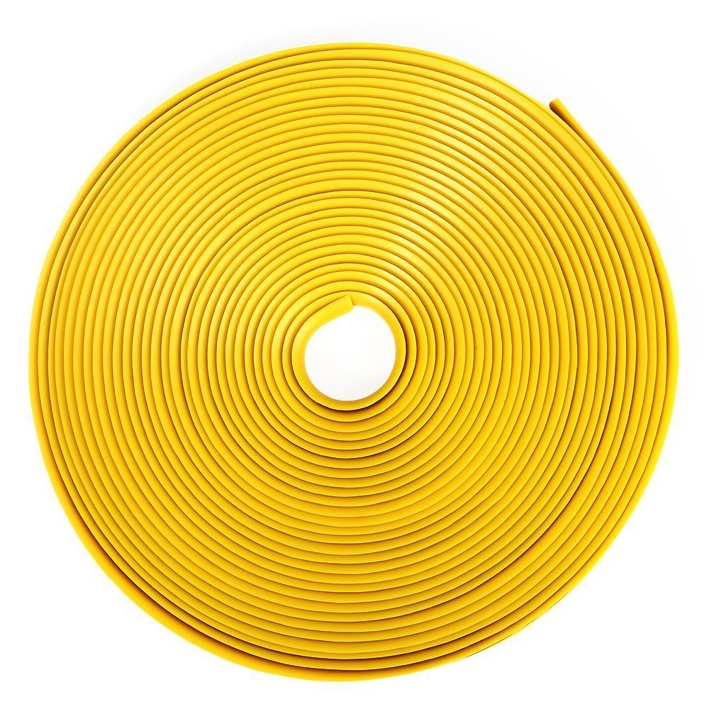 8 M Roda Tape Stiker untuk Mobil Bekas Sepeda Motor (Kuning) -- TC