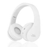 Beli 8252 Bluetooth Headset Nirkabel Headphone Stereo Foldable Sport Earphone Mikrofon Headset Bluetooth Earphone Putih Intl Online Tiongkok