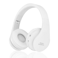 Harga 8252 Bluetooth Headset Nirkabel Headphone Stereo Foldable Sport Earphone Mikrofon Headset Bluetooth Earphone Putih Intl Paling Murah