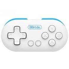 8Bitdo Zero Mini Portable Bluetooth Gamepad - White