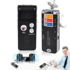 Harga 8 Gb Digital Audio Perekam Suara Dictaphone Usb Drive Mp3 Player Us Intl Baru Murah