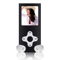 Spesifikasi 8 Gb Slim Digital Mp3 Mp4 Player 1 8 Inci Layar Lcd Radio Fm Video Game Film Hitam Dan Harga
