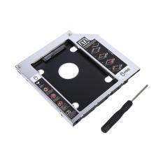 9.5mm Aluminium SATA HDD SSD Lampiran Hard Disk Drive Adapter untuk Laptop-Intl