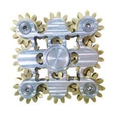Review 9 Gears Hand Spinner Fingertip Finger Gyro Mainan Edc Adhd Fidgethand Spinner Spiral Desktop Anti Stres Jari Game Intl Oem