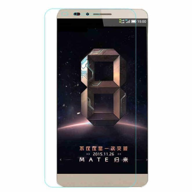 Vn Huawei Ascend Mate 7 Tempered Glass 9H Screen Protector 0.32mm - Anti Crash Film - Bening Transparan