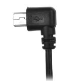 Promo Toko 90 Derajat Sudut Usb Male Ke Mini Usb Kabel Pengisian Ditukar Tukar Data Hitam Max 120 Cm