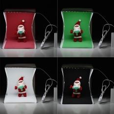 Spesifikasi 9 8 9 1 8 7 25 23 22 Cm Kecil Dilipat Fotografi Lightbox Studio Soft Box Light Tent Cube W Empat Latar Belakang Untuk Canon Nikon Sony Dslr Kamera Digital Untuk Iphone7 6 6 Plus Untuk Samsung Lg Htc Smartphone Putih Intl Baru