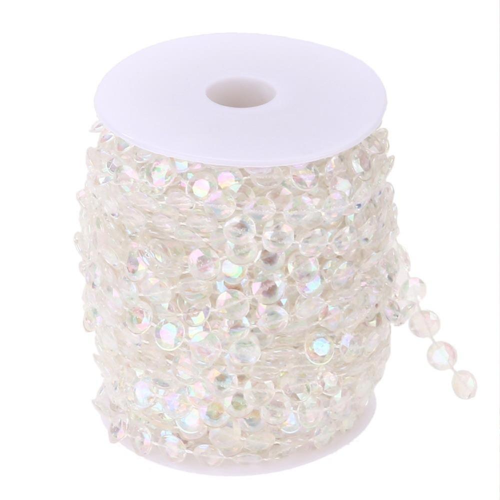 Beli 99Ft Garland Diamond Acrylic Crystal Bead Tirai Pernikahan Diy Pihak Dekorasi Intl Kredit Tiongkok