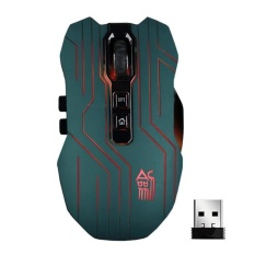 9D 3200 Dpi Optik 2.4g Wireless Gaming Mouse untuk DotA FPS Laptop PC GN-Intl