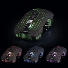 9D 3200 Dpi Optik 2.4g Wireless Gaming Mouse untuk DotA FPS Laptop PC-Intl